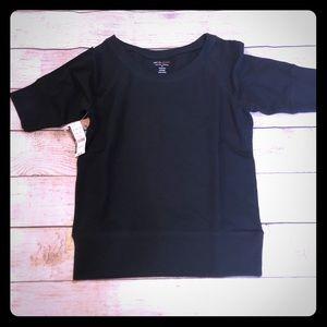 NY&C Black SS Sweat Shirt M